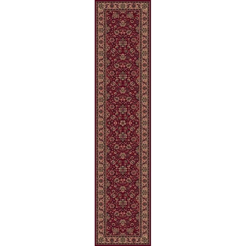 Tappeto persiano Tabriz fine lana passatoia rosso 1561-507
