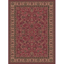 Carpet classico Tabriz fine lana rosa 1561-516