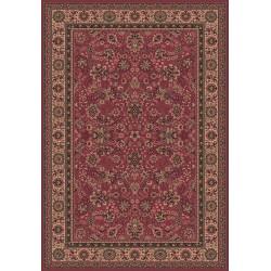 Tappeto persiano Tabriz fine lana rosa 1561-516