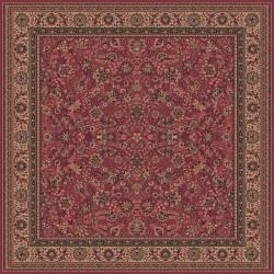 Tappeto persiano Tabriz fine lana quadrato rosa 1561-516