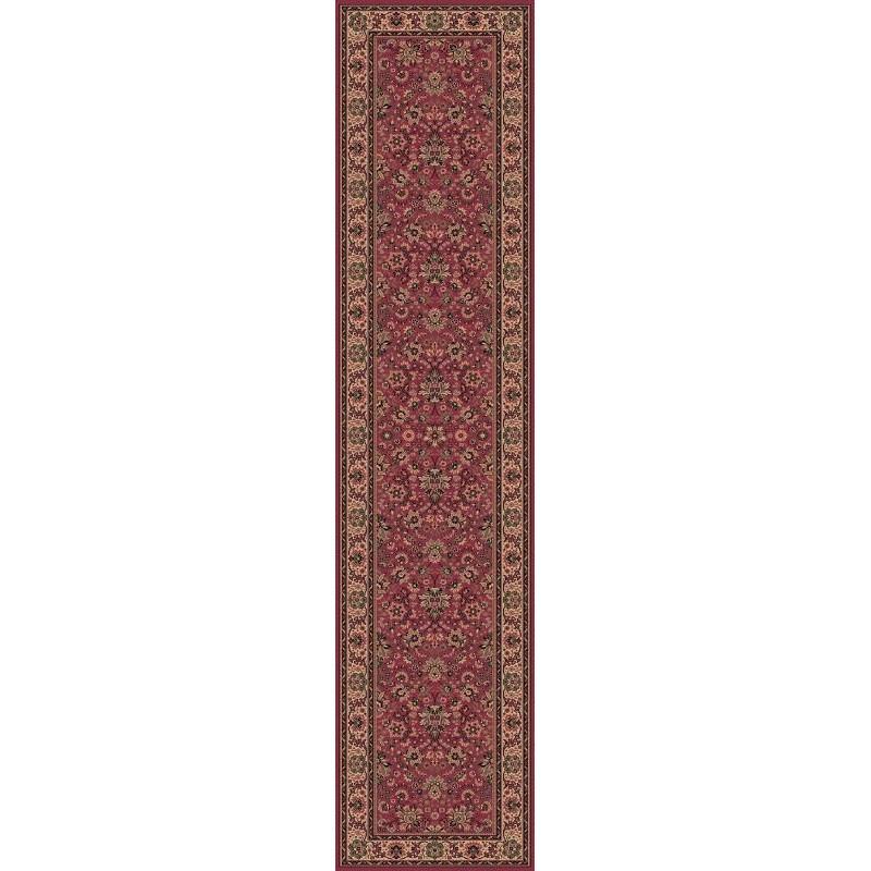 Tappeto persiano Tabriz fine lana passatoia rosa 1561-516