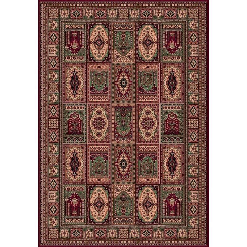 Carpet classico Bakhtiar fine lana rosso 1569