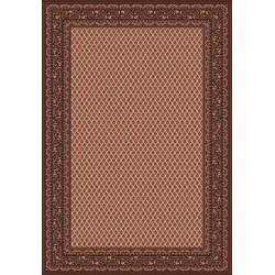 Carpet classico Mir fine lana crema-marrone 1581