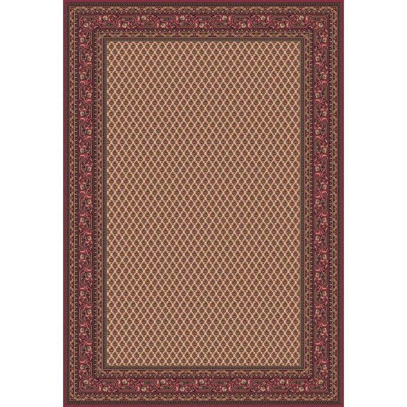 Carpet classico Mir fine lana crema-rosa 1581