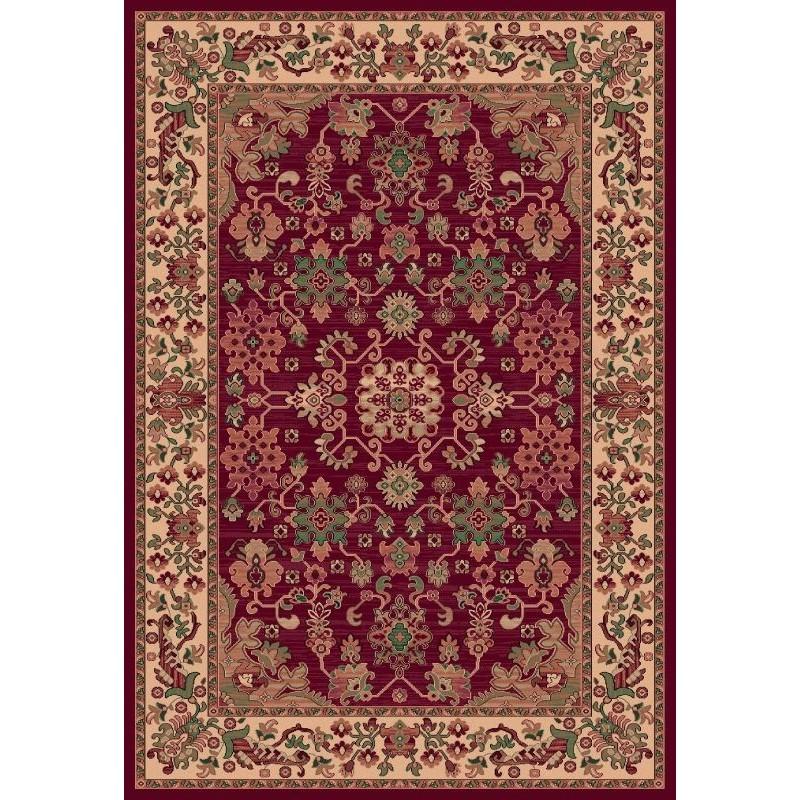 Tappeto persiano Kotan fine lana rosso 1630