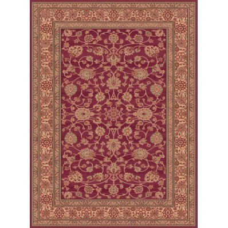 Carpet classico Ziegler fine lana rosa-crema 1637