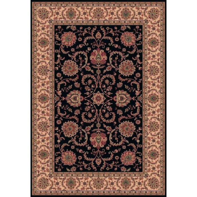 Tappeto persiano Ziegler fine lana marine 1640