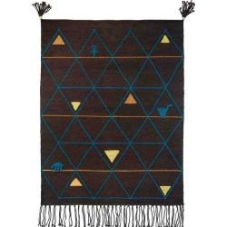 Carpet AISHA SITAP BLUE LANA geometrico da EUR 780.8