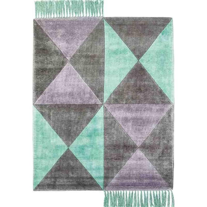 tappeto BUTTERFLY SITAP SEA SETA geometrico da EUR 872.3