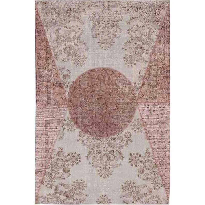 Carpet DA VINCI SITAP GREY-LILLA LANA geometrico da EUR 1415.2