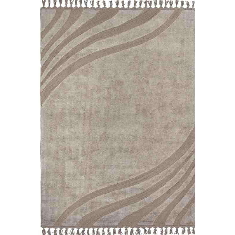 Carpet GILDA SITAP 12 BROWN SETA geometrico da EUR 1104.1