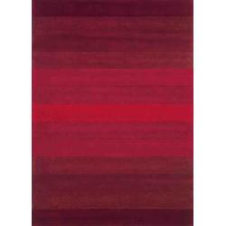 tappeto HANDLOOM SITAP 213 RED LANA geometrico da EUR 85.4