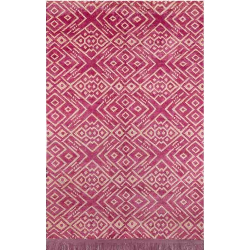 tappeto HIPPY SITAP FUXIA SETA geometrico da EUR 2244.8