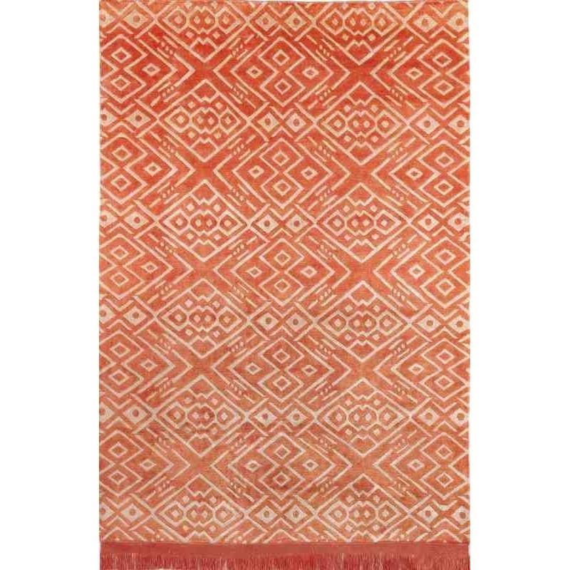 tappeto HIPPY SITAP ORANGE SETA geometrico da EUR 2244.8