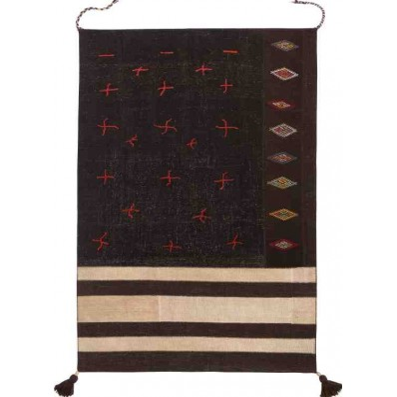 Carpet JANIRA SITAP BROWN BEIGE LANA geometrico da EUR 1842.2