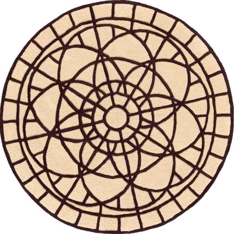tappeto PORTOFINO SITAP 18 130 ROTONDO LANA geometrico da EUR 328.18