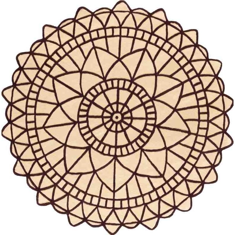 tappeto PORTOFINO SITAP 18 220 ROTONDO LANA geometrico da EUR 899.14