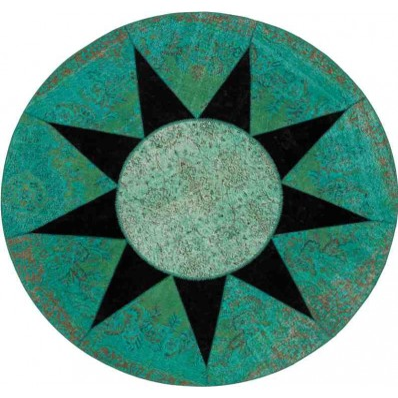 Carpet STAR SITAP BLACK ROTONDO LANA geometrico da EUR 2135