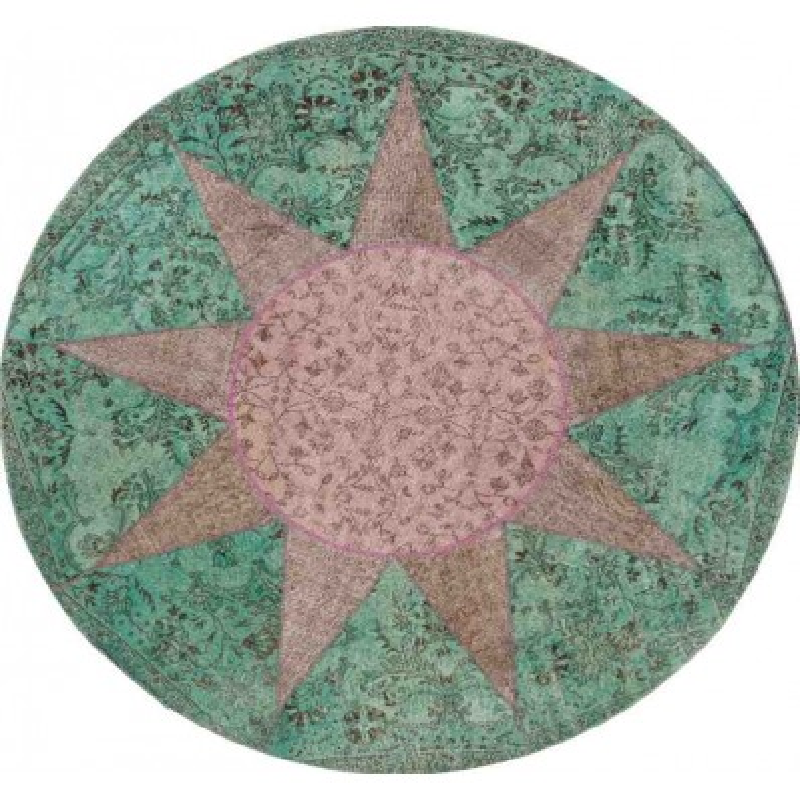 tappeto STAR SITAP GREY ROTONDO LANA geometrico da EUR 2135
