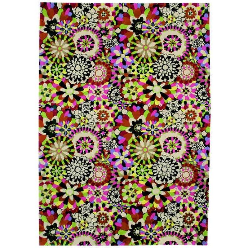 Carpet floreale Fleury Missoni T159 cm.200x300