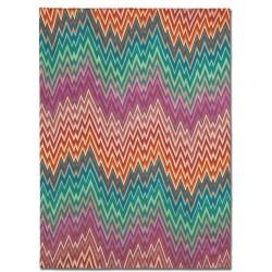 98_Tappeto  geometrico Navaleno Missoni T159 cm.200x300