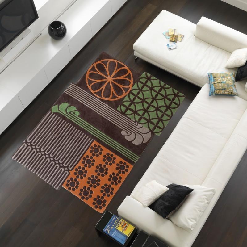 Carpet moderno Vintage 8497 Natalia Pepe (-35%) multicolour cm.210x310 di SITAP