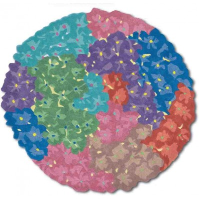 Carpet floreale Tocantis Missoni T100 rotondo cm.150x150