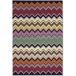 257_Tappeto geometrico Turkana Missoni T100 cm.170x240