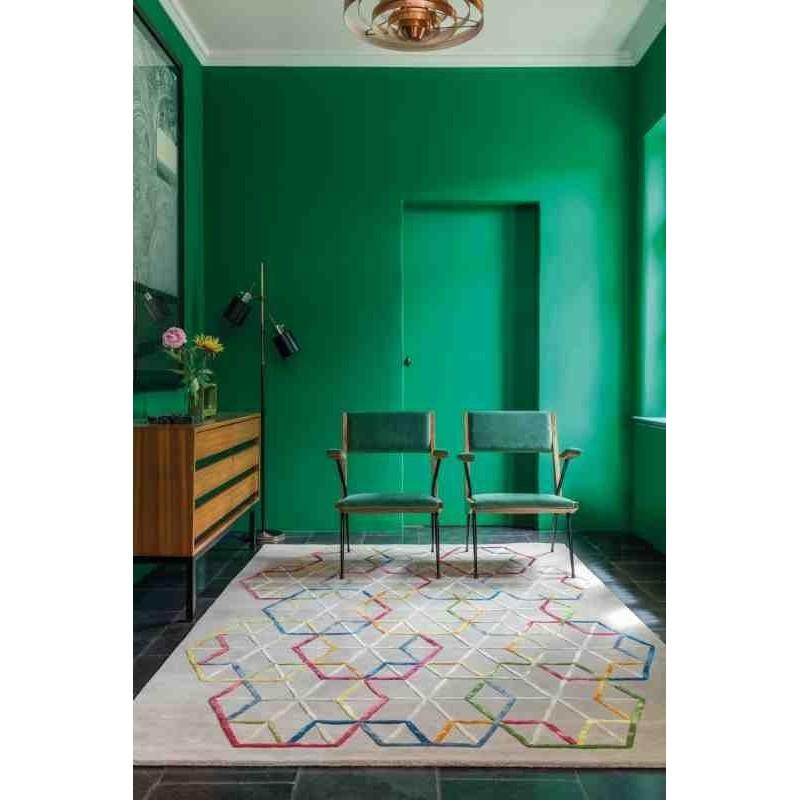 tappeto moderno geometrico LOVE Ligne Pure 233 001 990