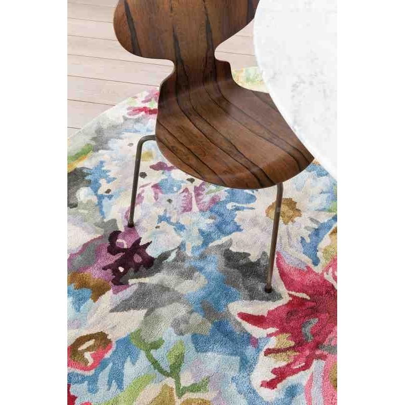 tappeto moderno floreale LOVE Ligne Pure 213 001 990