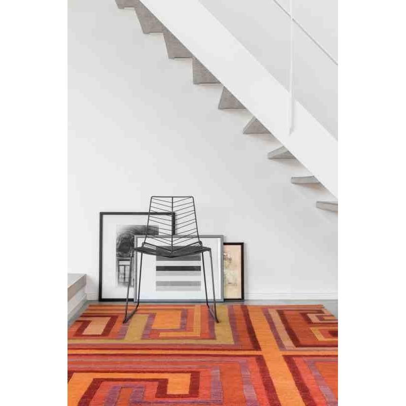 tappeto moderno geometrico LOVE Ligne Pure 184 001 000