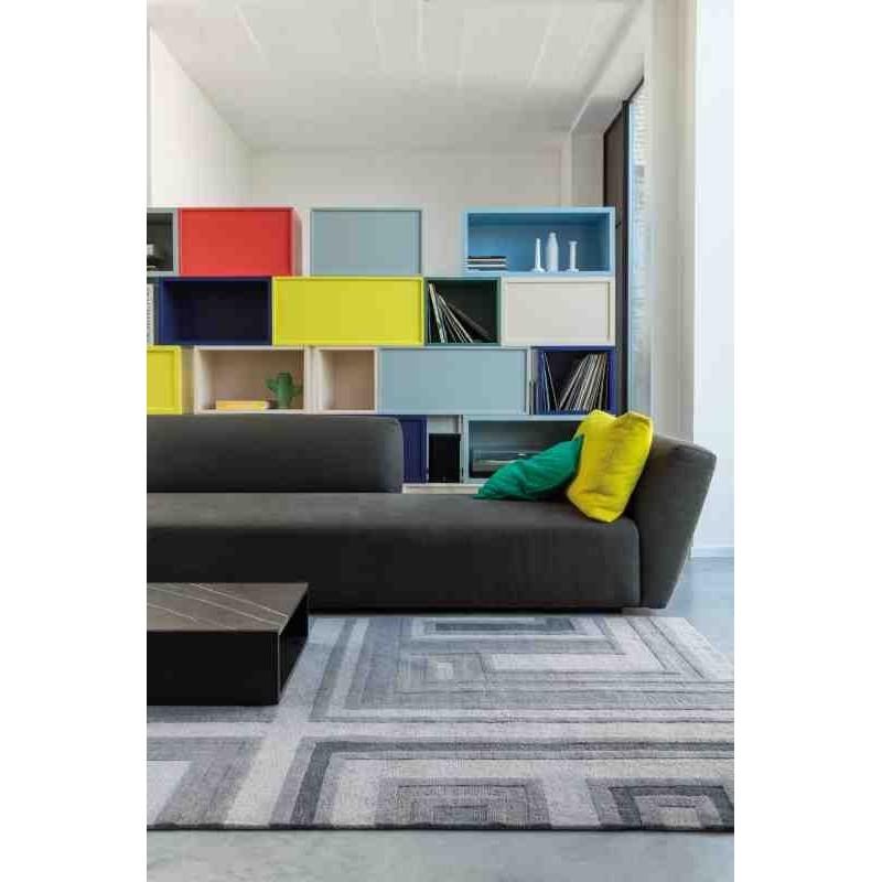 tappeto moderno geometrico LOVE Ligne Pure 184 001 900