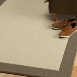 tappeto moderno tinta unita Moorland Bark lana