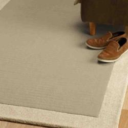 tappeto moderno tinta unita Moorland Sand lana