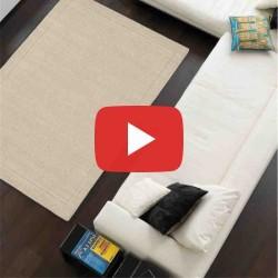 Carpet moderno tinta unita York Beige lana