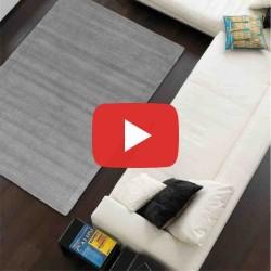 Carpet moderno tinta unita York Grey lana