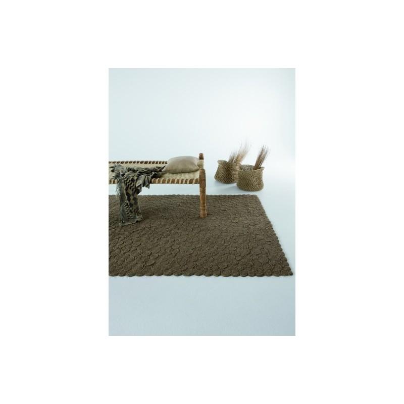 tappeto Spiral Nanimarquina brown