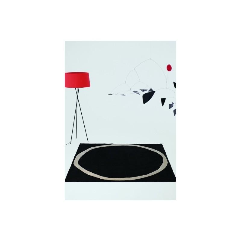 tappeto Aros Nanimarquina black quadrato