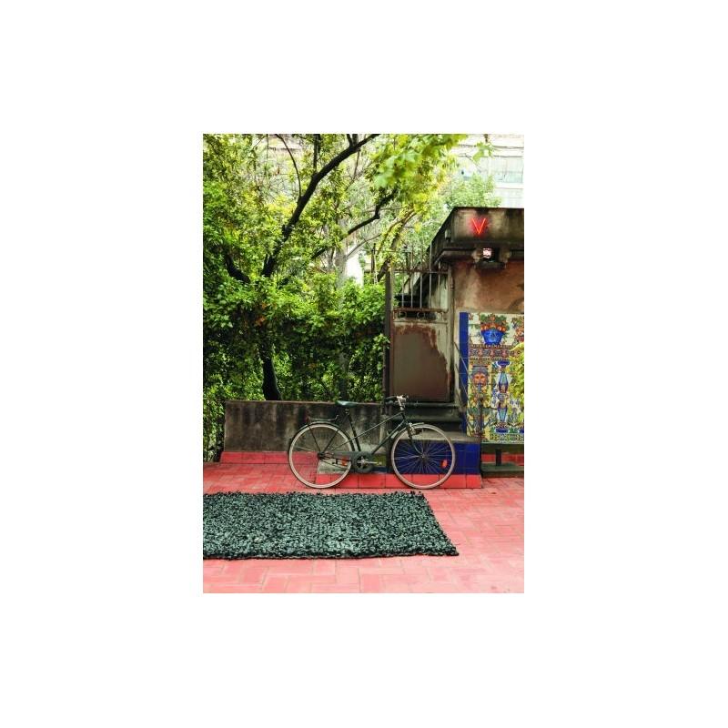 tappeto Bicicleta Nanimarquina black