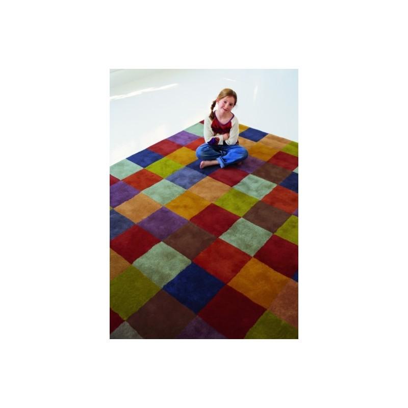 tappeto Cuadros Nanimarquina multicolor