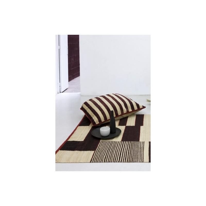 tappeto Medina Nanimarquina black and white