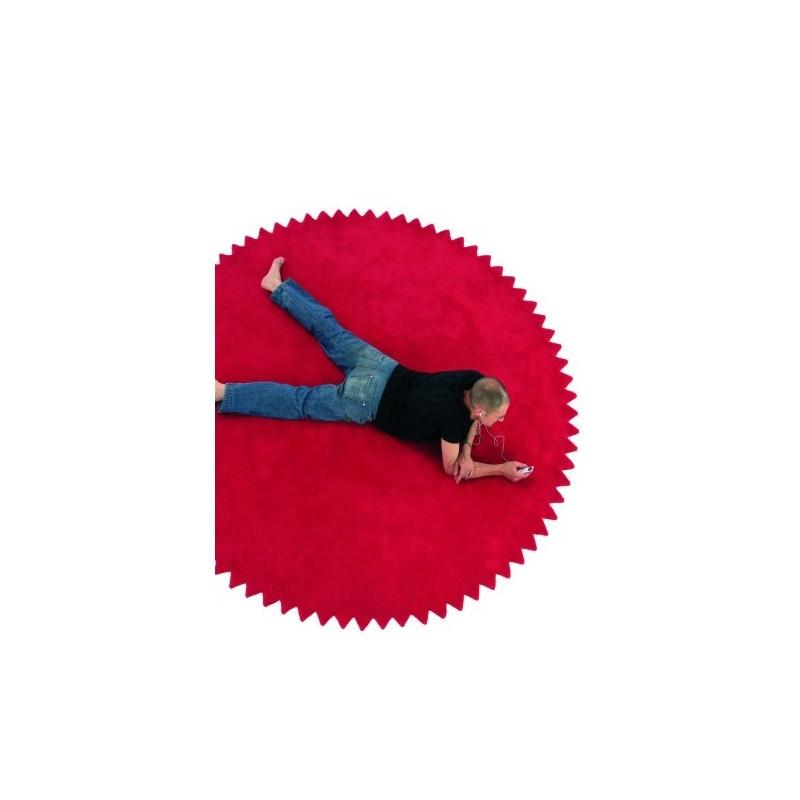 tappeto News Nanimarquina red rotondo