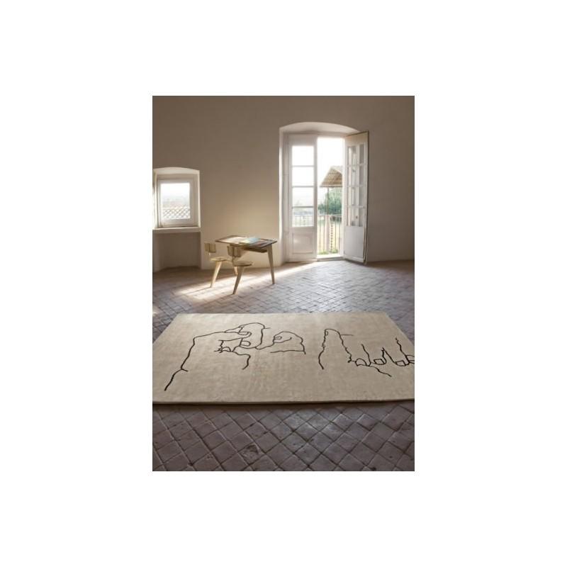 Carpet Chillida Nanimarquina Manos 1995 beige
