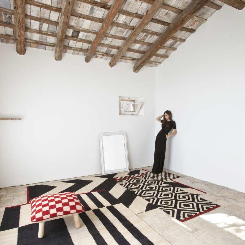 tappeto Melange Nanimarquina Pouf Pattern 5