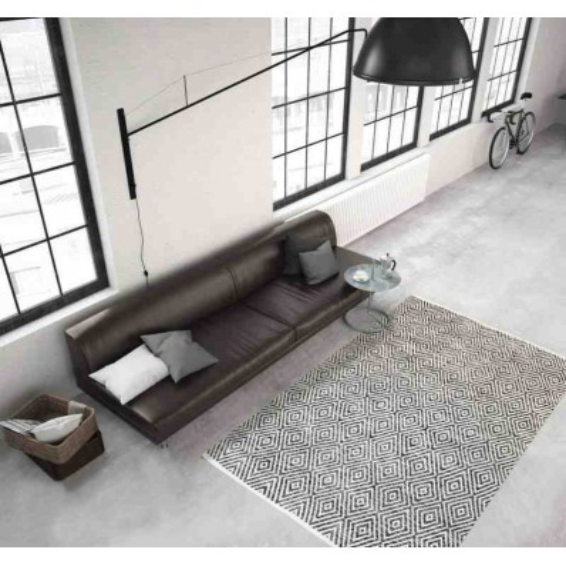 tappeto moderno tinta unita aperitif 310 grigio