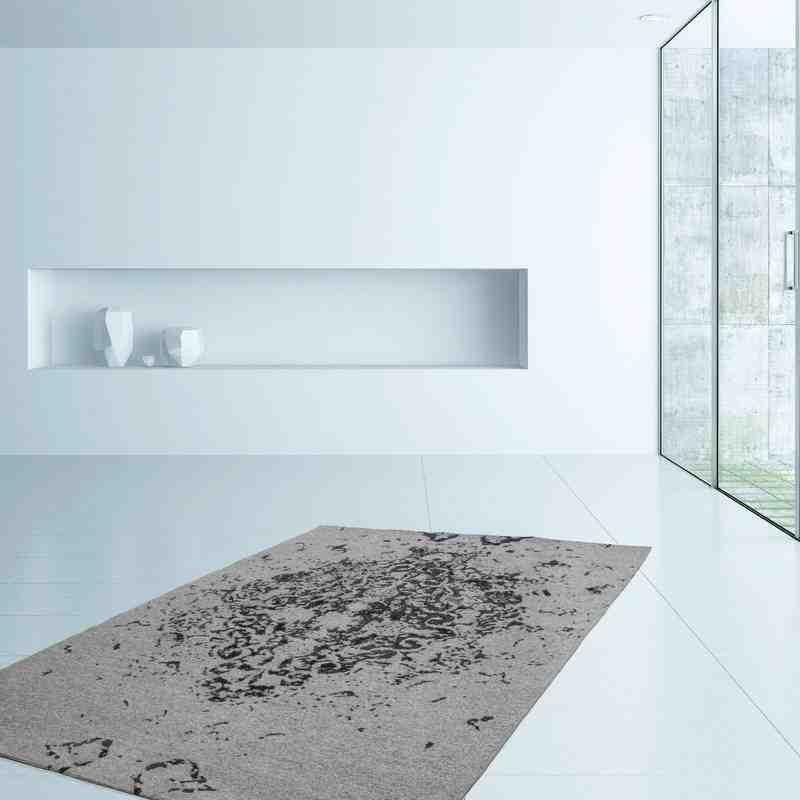 tappeto moderno fantasia ballerina 700 grigio