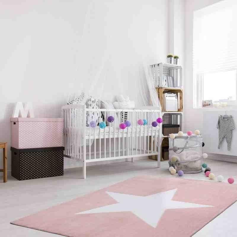 tappeto moderno bambini cameroon douala powder rosa