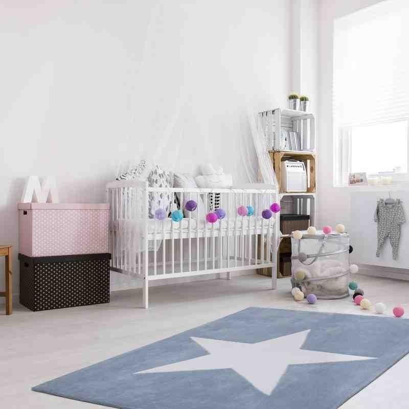 tappeto moderno bambini cameroon douala pastello blu