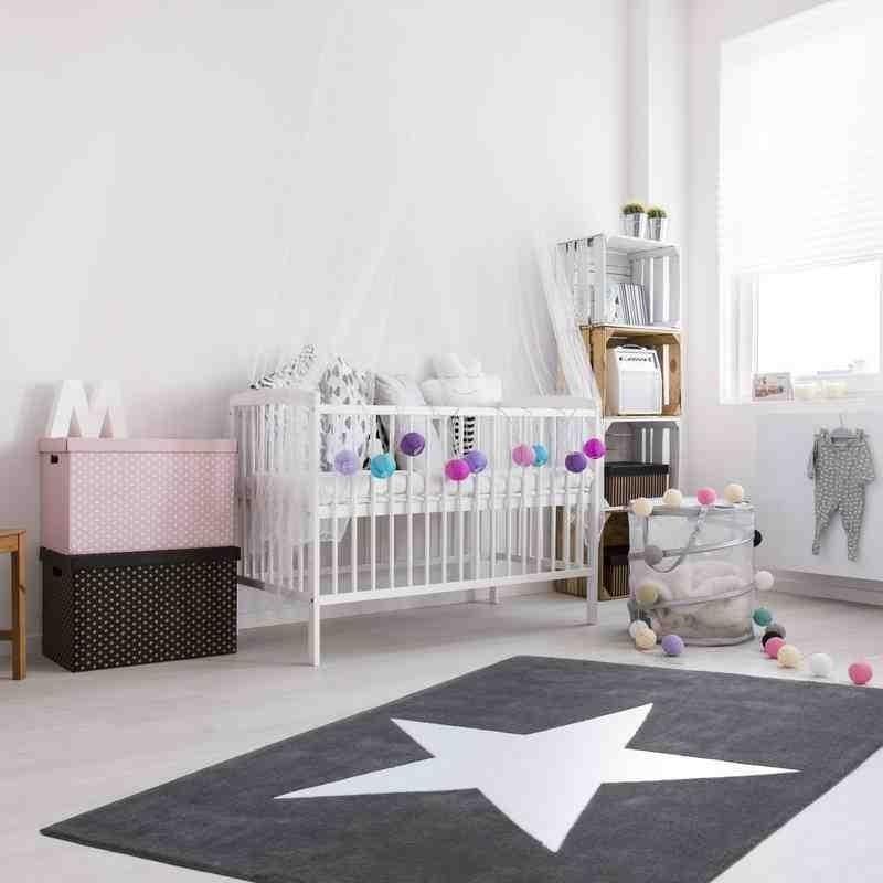 tappeto moderno bambini cameroon douala grigio
