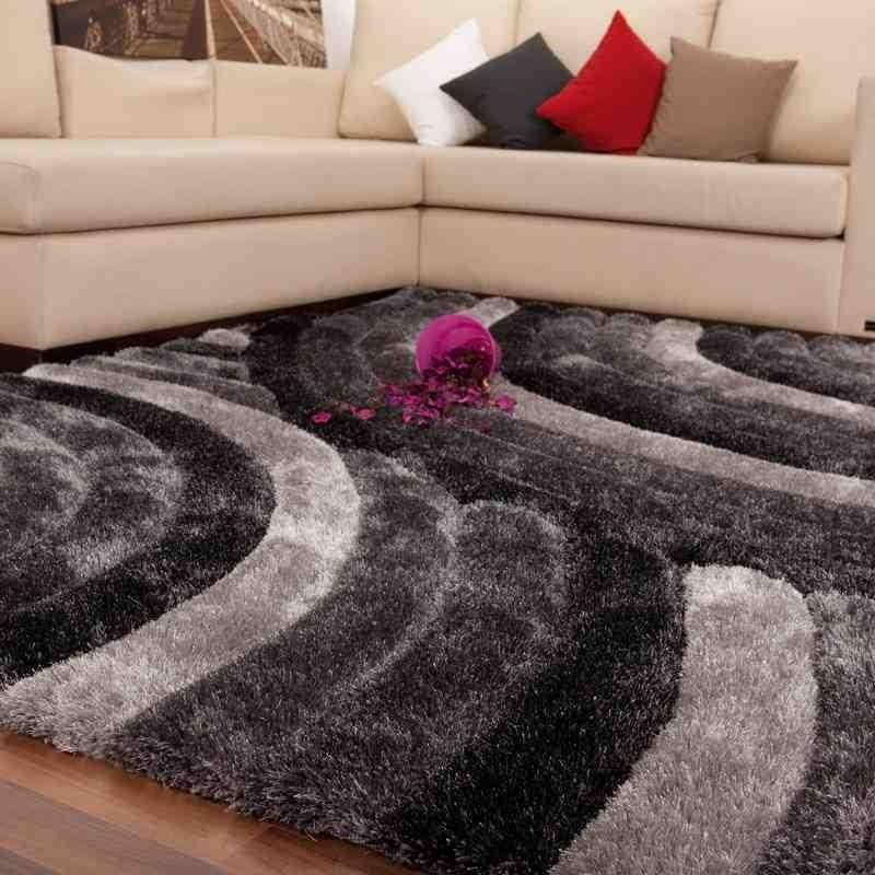 tappeto moderno geometrico canada ottawa argento